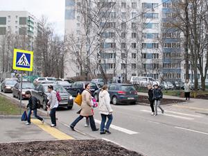 Зеленоградские пешеходы стали вдвое реже нарушать правила