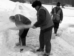 Хуже всего снег этой зимой убирали в районе Крюково