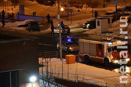 Отдел полиции в 15-м микрорайоне оцепили из-за угрозы взрыва