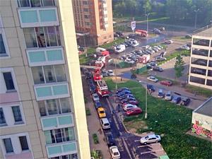 На пожаре в 20-м микрорайоне погиб один человек