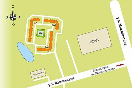 Возле андреевского «Ашана» построят три дома и детский сад