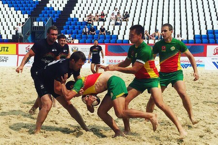 РК «Зеленоград» занял 3-е место на чемпионате России по пляжному регби
