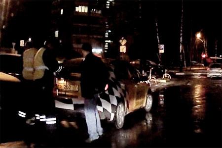 Участники автосообщества «ВКонтакте» навели полицию на нетрезвого таксиста