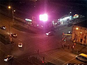 Табло на улице Андреевке выключили после жалоб горожан