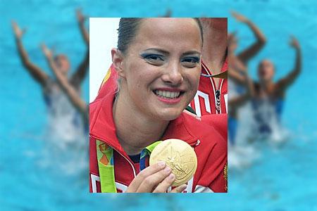 Зеленоградка стала олимпийской чемпионкой по синхронному плаванию
