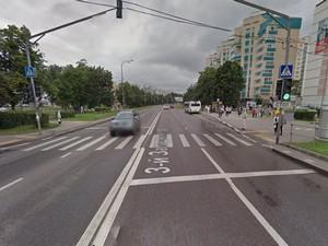 Пешеход попал в реанимацию после наезда велосипедиста