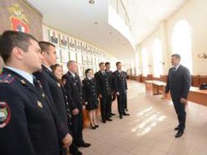 Полицию Зеленограда пополнили новобранцы
