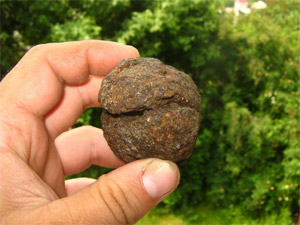 Под Зеленоградом нашли осколок метеорита