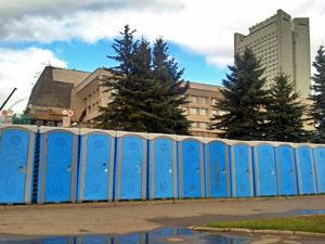 В День города для зеленоградцев установят 65 туалетных кабинок