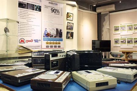 В Музее Зеленограда выставили коллекцию ретромагнитофонов