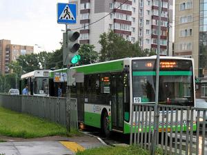 На Солнечной аллее столкнулись два автобуса с пассажирами