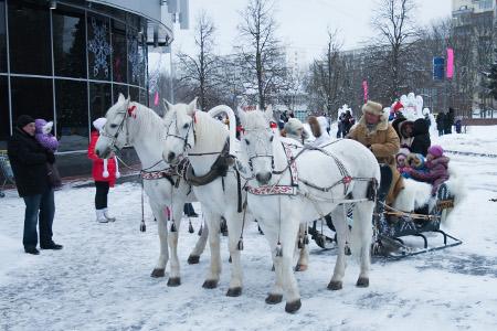 ТК «Панфиловский» приглашает на Рождественские гуляния
