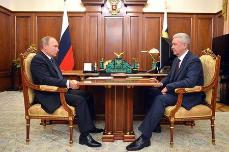 Собянин рассказал Путину о новой железнодорожной магистрали до Зеленограда