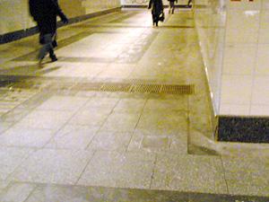 У подземного перехода сбили пешехода