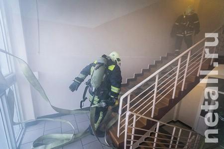 Под Зеленоградом произошел пожар в госпитале для неизлечимо больных