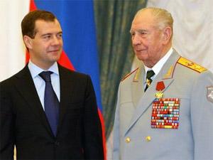 Зеленоградскую школу посетил последний маршал СССР