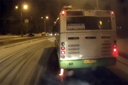 «Реактивный» автобус
