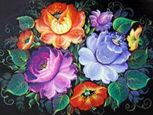 Студия «Палитра увлечений» приглашает на курсы по художественной росписи
