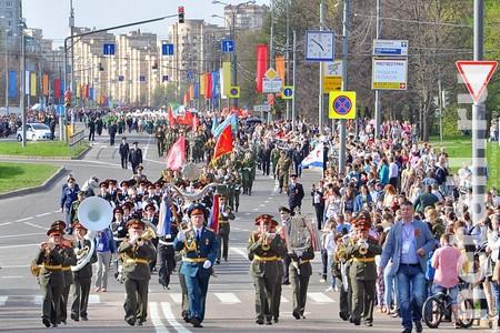 В День Победы на Центральном проспекте устроят шествие кадетов