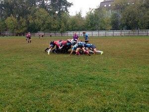 Состоялся матч Чемпионата Москвы по регби между зеленоградским «Зенитовцем» и «Московскими драконами»