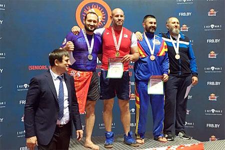 Зеленоградец стал вице-чемпионом мира по грэпплингу
