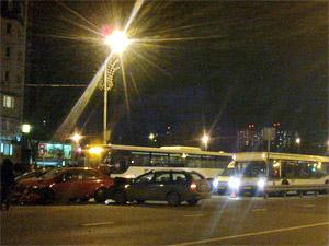 ДТП у поликлиники в 14-м микрорайоне остановило автобусы в «новом городе»