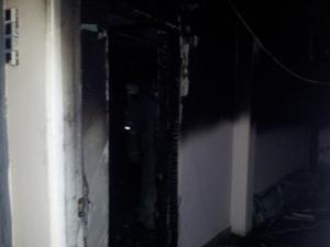 На пожаре в 8-м микрорайоне спасли больше 15 человек