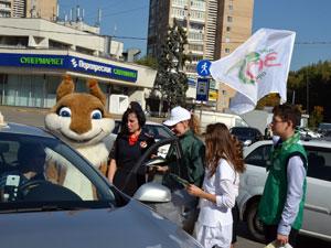 День без автомобиля в Зеленограде: акция ГИБДД