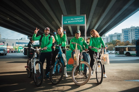 Партнером акции «На работу на велосипеде» в Зеленограде стал только кондитерский магазин