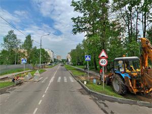 Префектура задумала расширить Яблоневую аллею и улицу Летчика Полагушина