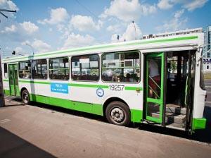 Автобус 400К попал в ДТП на Пятницком шоссе