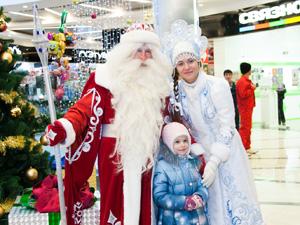 Торговый комплекс «Панфиловский» встретил Новый год