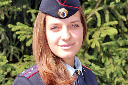 Эксперта из УВД Зеленограда признали самой романтичной на конкурсе красоты МВД