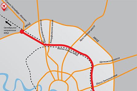 К концу 2018 года Новую Ленинградку свяжут с Дмитровским шоссе