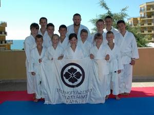 Зеленоградская федерация карате провела летние сборы в Болгарии