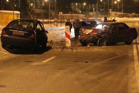 У промзоны Алабушево автомобилист пострадал из-за выезда на встречку другого водителя