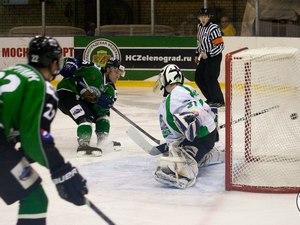 ХК «Зеленоград» в трех матчах обыграл «Жальгирис» в первом раунде плей-офф МХЛ