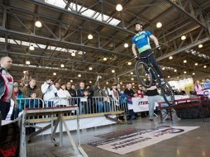Зеленоградец установил рекорд России по прыжкам на велосипеде