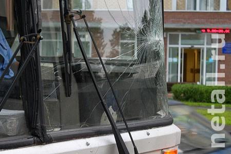 На Московском проспекте столкнулись два автобуса