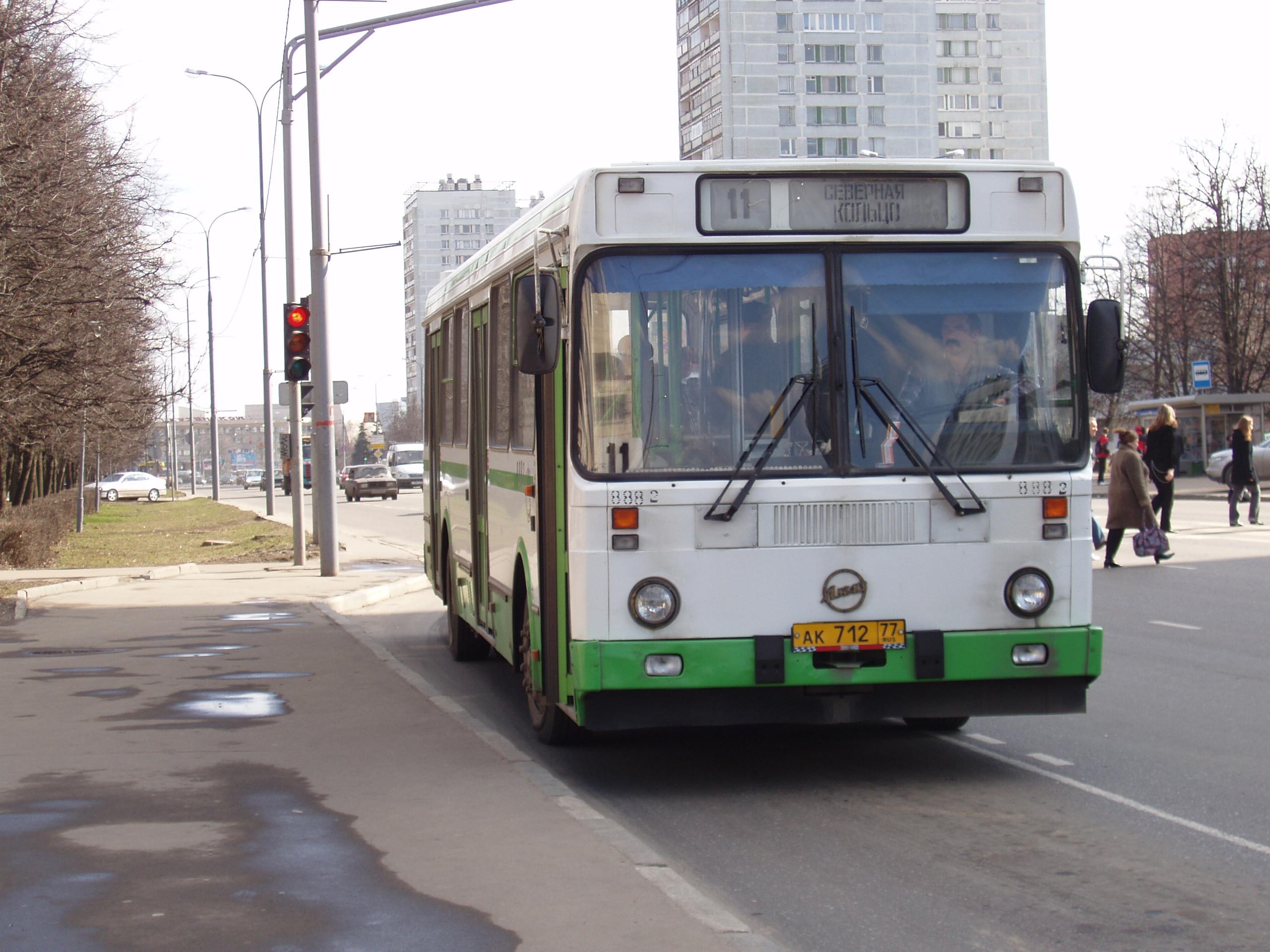 ГИБДД ищет резко затормозившего водителя автобуса