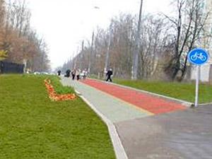 Первая велодорожка появится к сентябрю