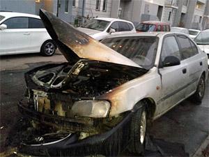 Пойман поджигатель машины в 20-м микрорайоне