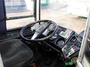 Пассажир разбил нос водителю автобуса
