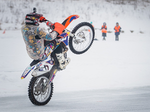 Мотокросс на льду — 2014