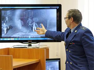 Свидетелям обвинения по делу Некрасова показали в суде видеозапись из гаражей