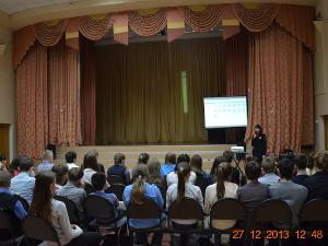 Встреча сотрудников  ГИБДД со школьниками