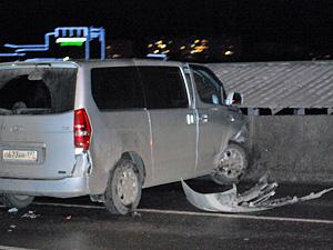В массовой аварии на мосту у МИЭТа пострадали трое