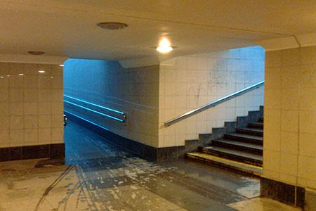 В подземном переходе у Зелрайсуда появятся указатели микрорайонов