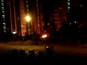 За неделю в «новом» городе сгорели три машины