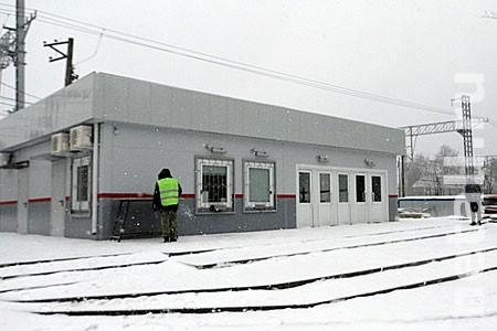Турникеты в Фирсановке заработали на обеих платформах